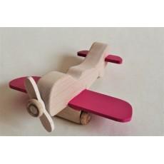 Petit avion rose