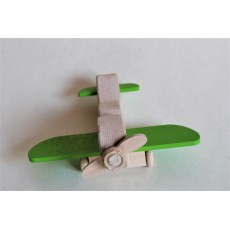 Petit avion vert