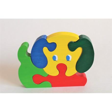 Puzzle Chiot